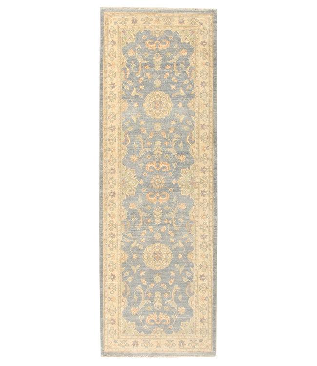 243x82 cm Handgeknoopt Ziegler Vloerkleed Wollen Loper Tapijt