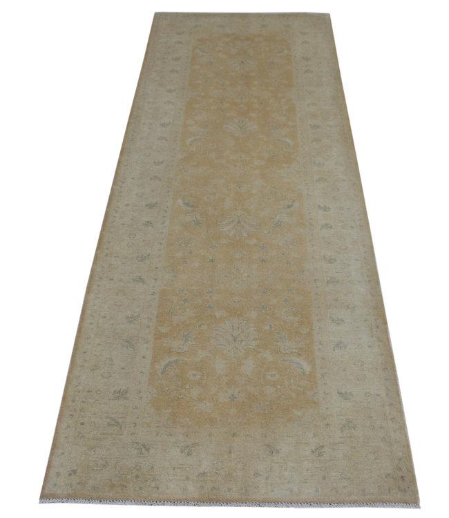 296x101 cm Handgeknoopt Ziegler Vloerkleed Wollen Loper Tapijt
