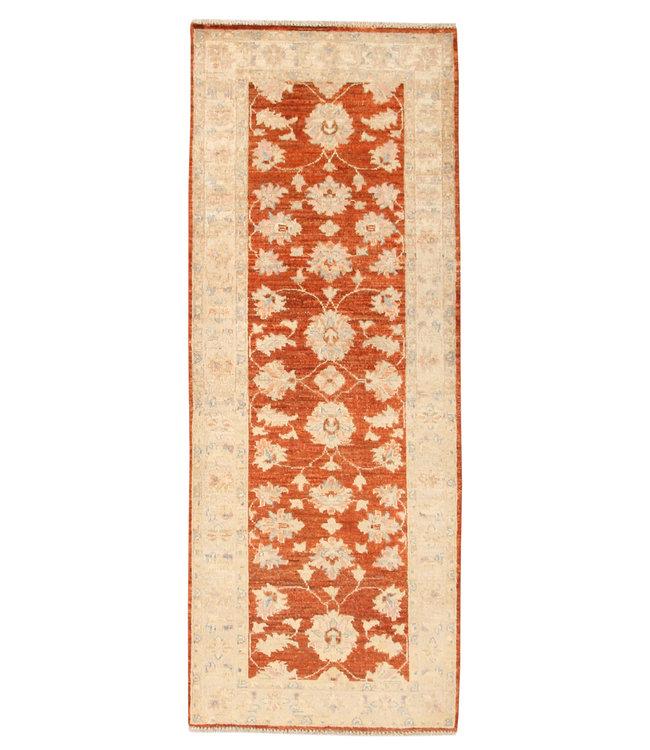 193x74 cm Handgeknoopt Ziegler Vloerkleed Wollen Loper Tapijt