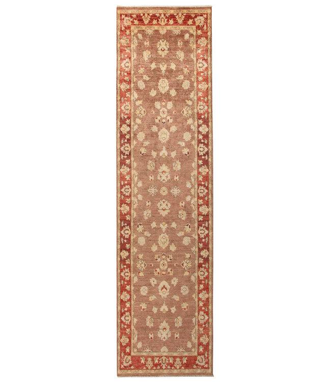 297x77 cm Handgeknoopt Ziegler Vloerkleed Wollen Loper Tapijt