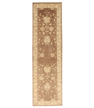 289x82 cm Hand Knotted Ziegler Wool  Runner Rug Oriental Carpet