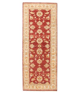 199x79 cm Hand Knotted Ziegler Wool  Runner Rug Oriental Carpet