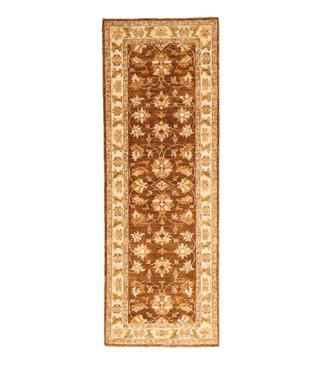 201x70cm Hand Knotted Ziegler Wool  Runner Rug Oriental Carpet