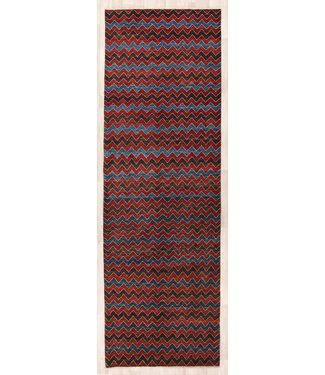 324x104 cm Hand Knotted Modern Wool Runner Rug