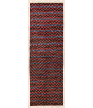 324x104 cm Handgemaakt Modern Wollen Loper Tapijt