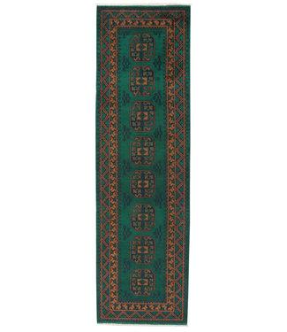 296x86 cm Handgemaakt Traditioneel Aqcha Wollen Oosters Loper Tapijt