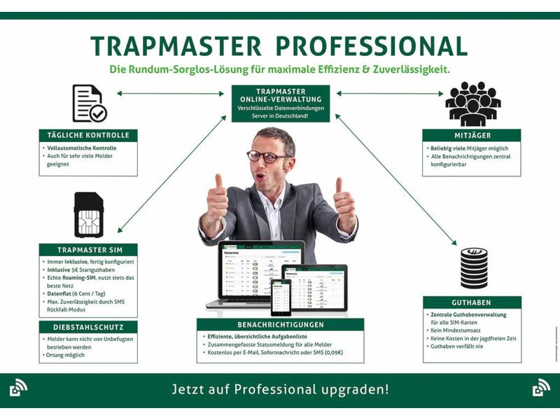 Free TRAPMASTER-trial for 30 days (within Germany only)!