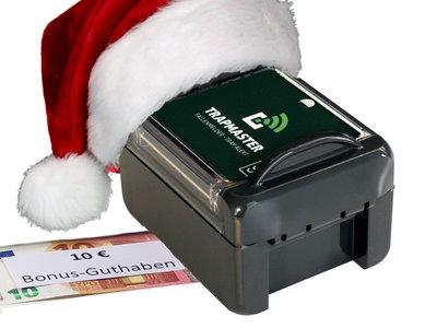Weihnachtsangebot: Fallenmelder TRAPMASTER + 10€ Bonus - Guthaben