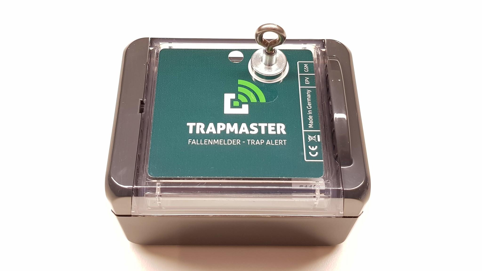 TRAPMASTER Version Neo mit Neigung und Magnetabriss vom Gehäuse