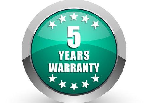 5 Jahre Garantie erhältlich