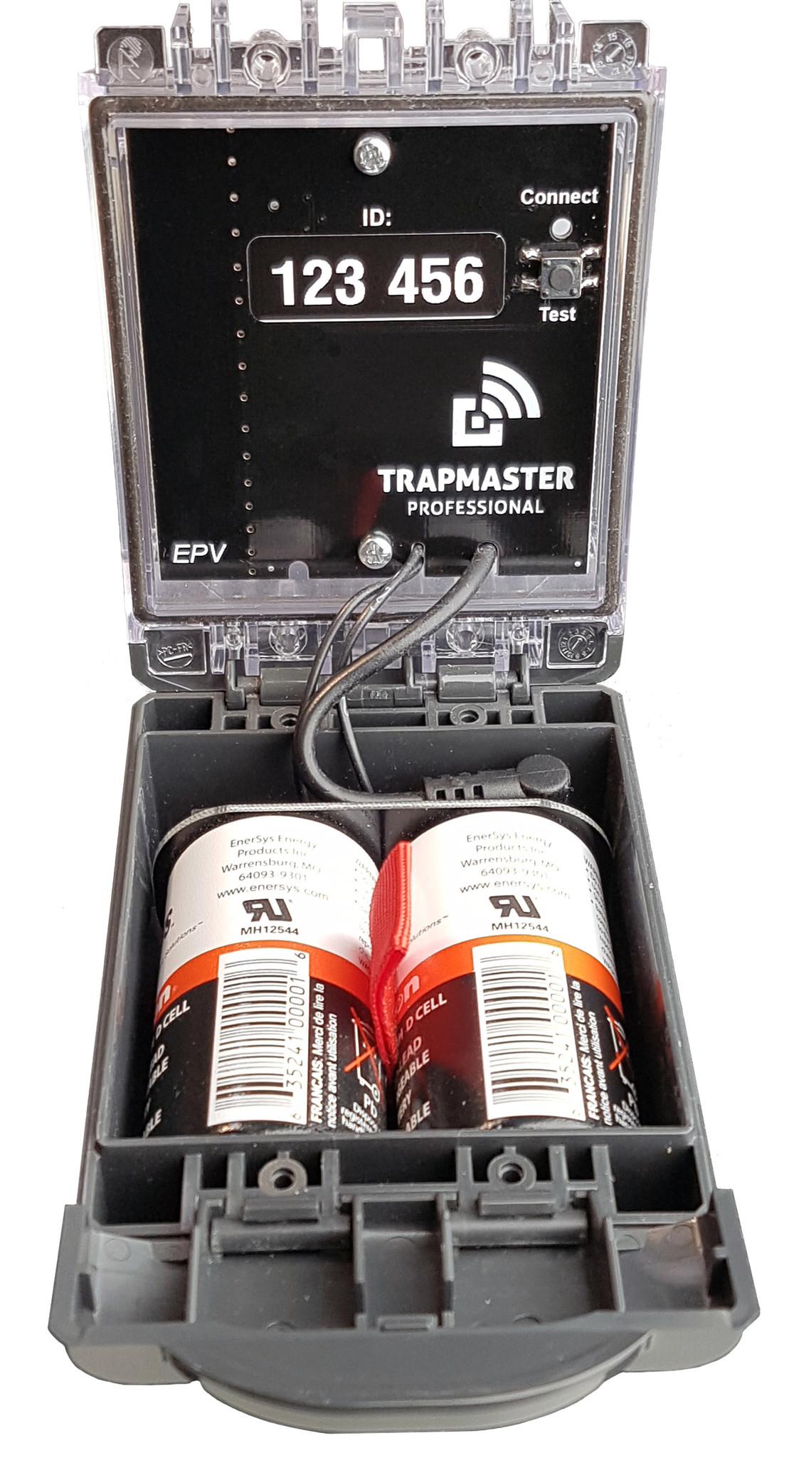 Fallenmelder Fallenalarm TRAPMASTER einfache Bedienung dank Gehäusekonzept