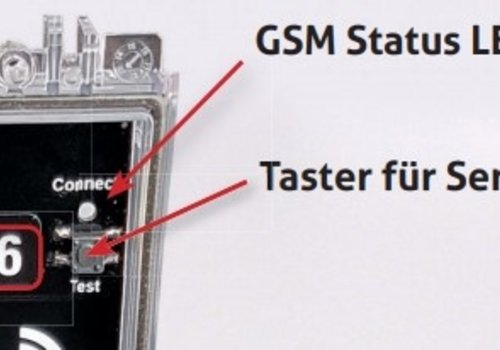 Sensortest am TM Standard