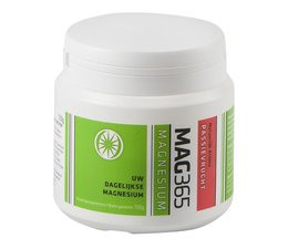 MAG365 Magnesium in poedervorm smaak passievrucht + citroenzuur