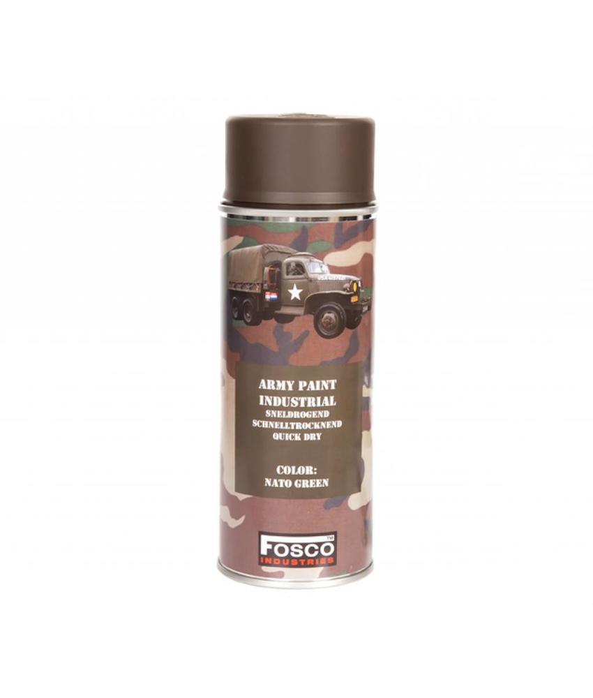 Fosco Spray Paint  NATO Green 400ml