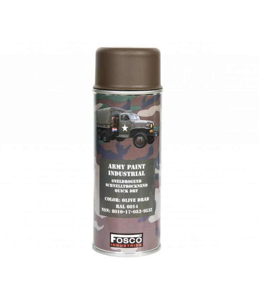 Fosco Spray Paint  Olive Drab 400ml