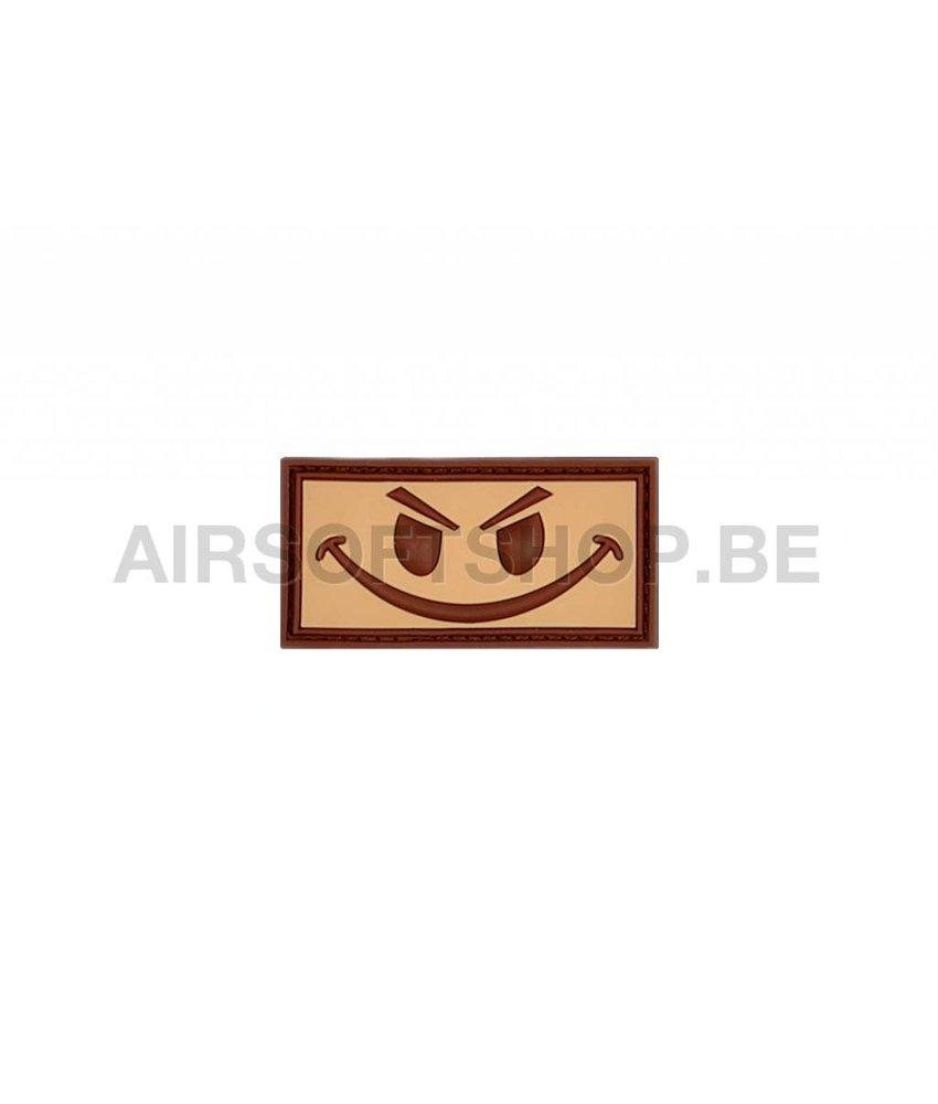 JTG Evil Smiley PVC Patch (Desert)