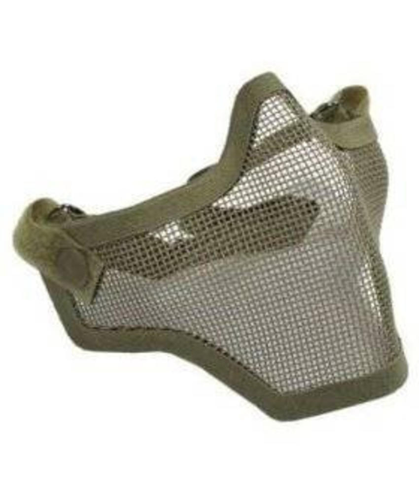 101 Inc Half Face Mesh Mask (Olive Drab)
