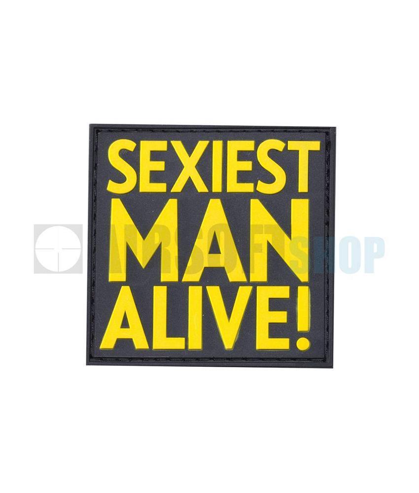 JTG Sexiest Man Alive PVC Patch (Yellow)