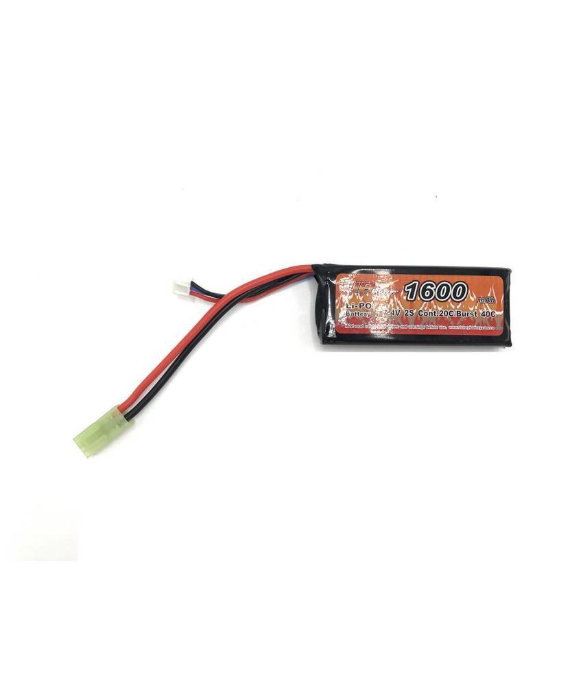 VB Power LiPo 7.4V 1600mAh 20C Mini Type (Tamiya)