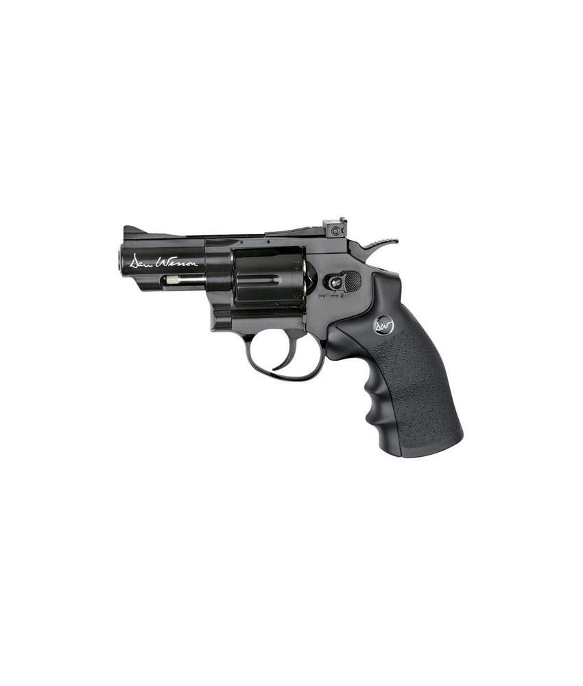 "ASG Dan Wesson 2.5"" Revolver Black (1.4 Joule)"