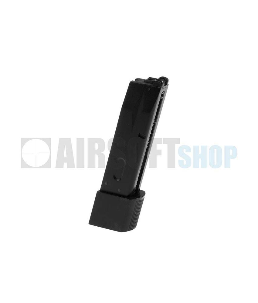 WE M92 Biohazard GBB Mag (Extended Capacity)