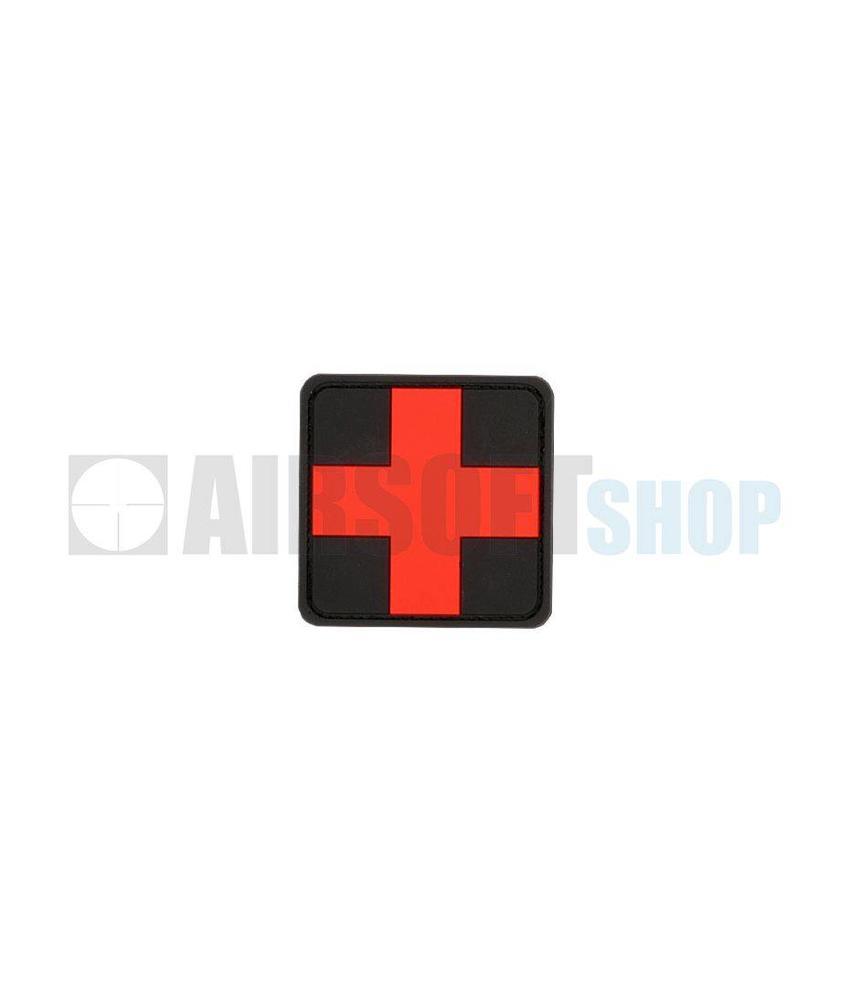 JTG Red Cross PVC Patch (Blackmedic)