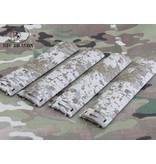 Big Dragon EGO Diamond Plate Rail Covers (Digital Desert)