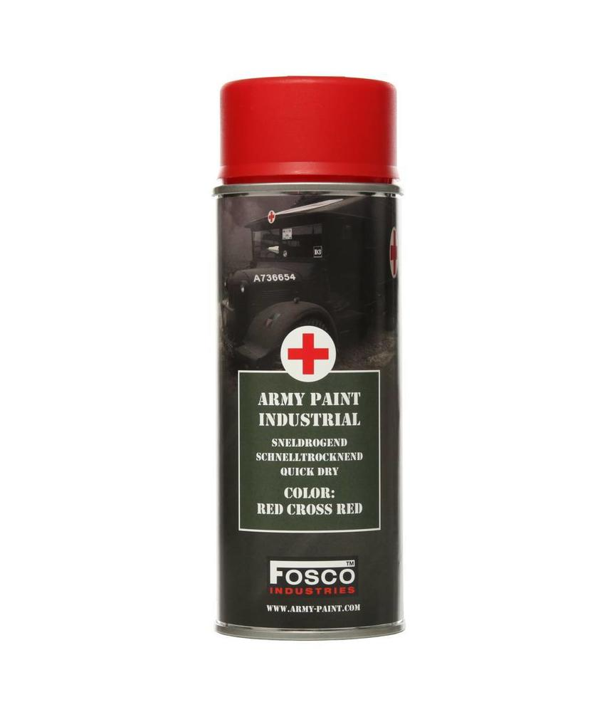Fosco Spray Paint Red Cross Red 400ml