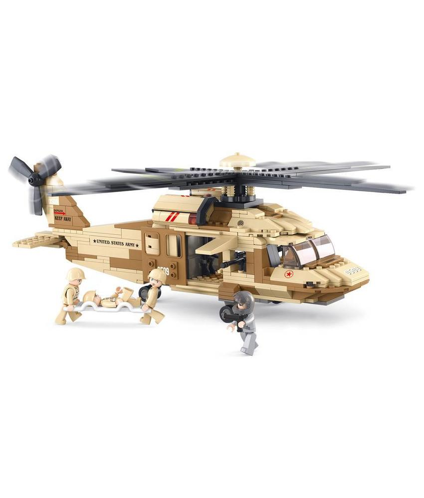 Sluban Black Hawk Helicopter M38-B0509