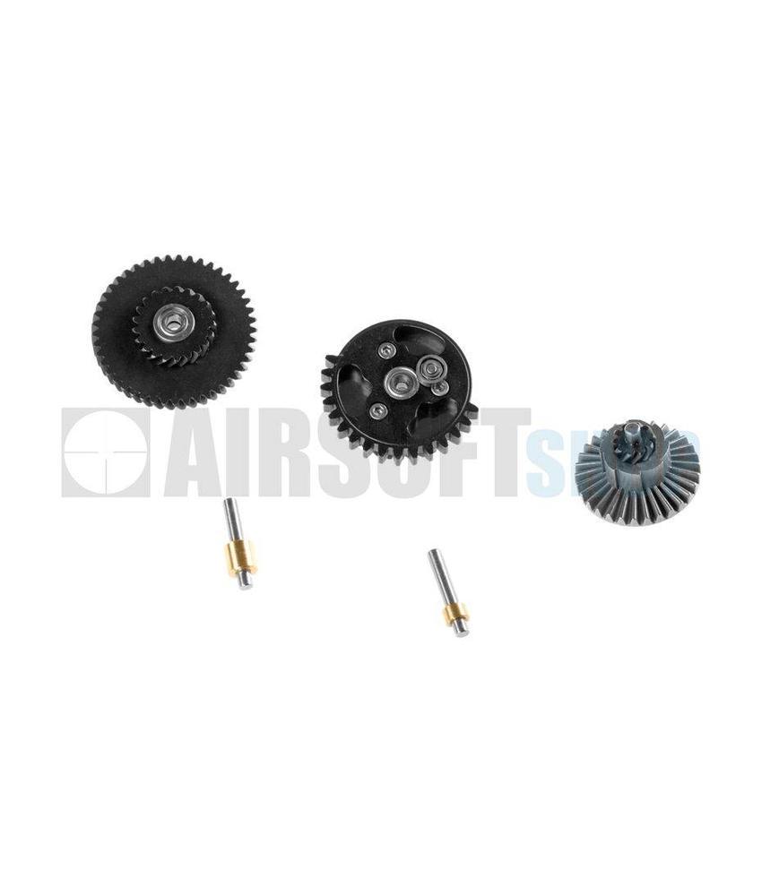 BD Custom 100:200 Super High Speed 3 Bearing Gear Set