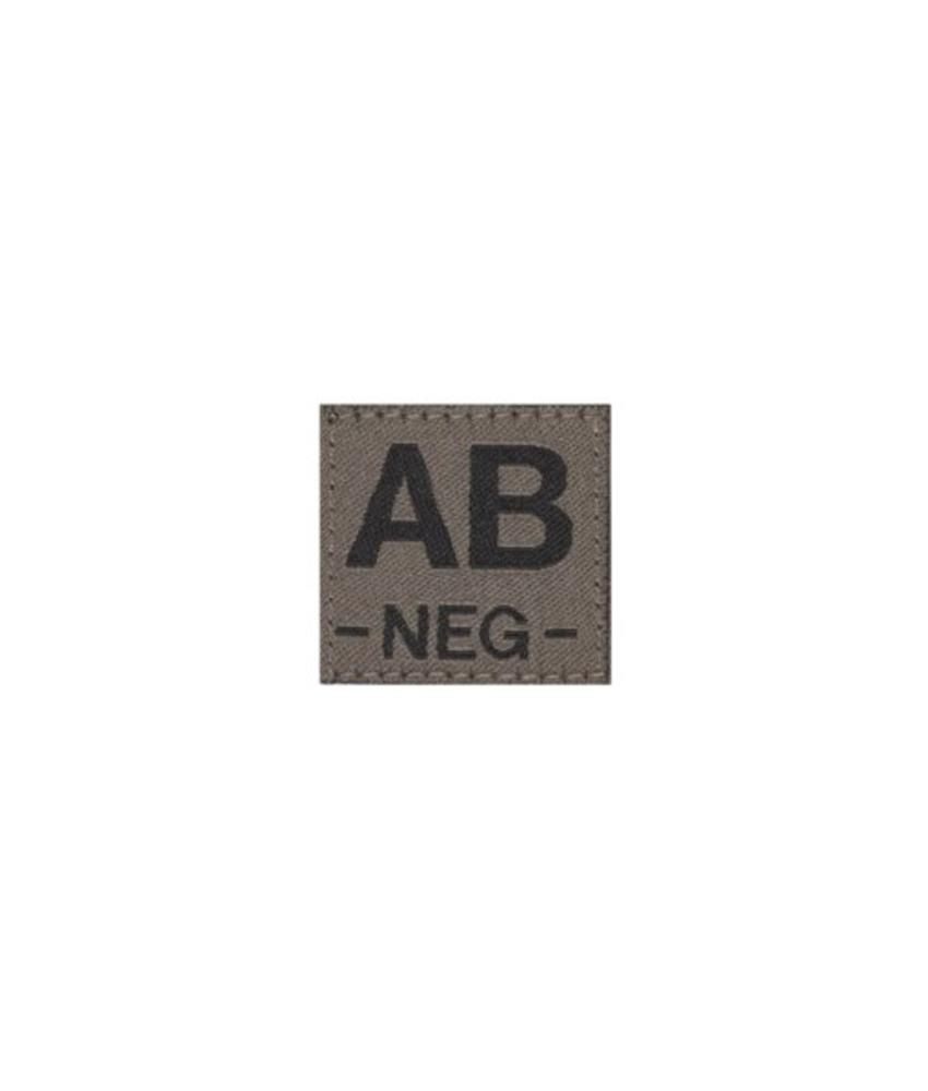 Claw Gear AB NEG Bloodgroup Patch (RAL7013)