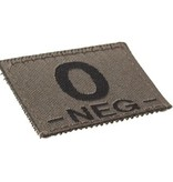 Claw Gear O NEG Bloodgroup Patch (RAL7013)