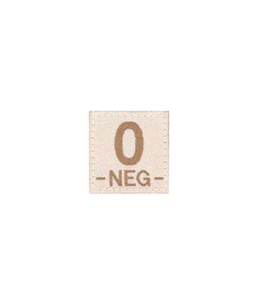 Claw Gear O NEG Bloodgroup Patch (Desert)