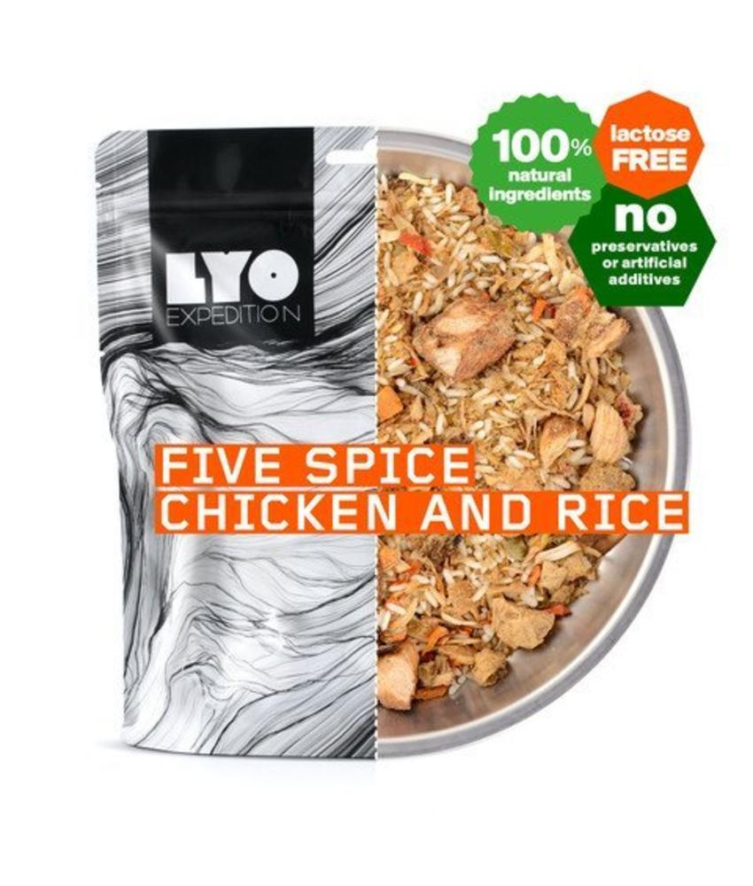 LYO FOOD Five Spice Chicken and Rice