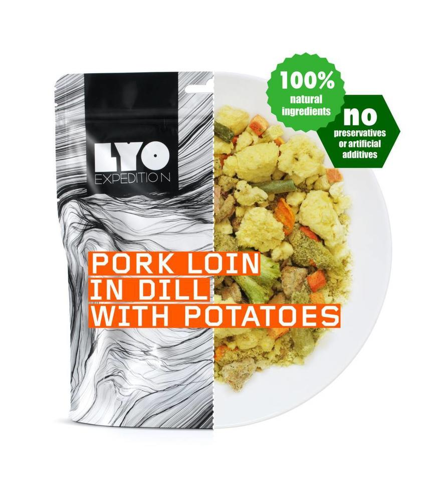 LYO FOOD Pork Loin in Dill with Potatoes