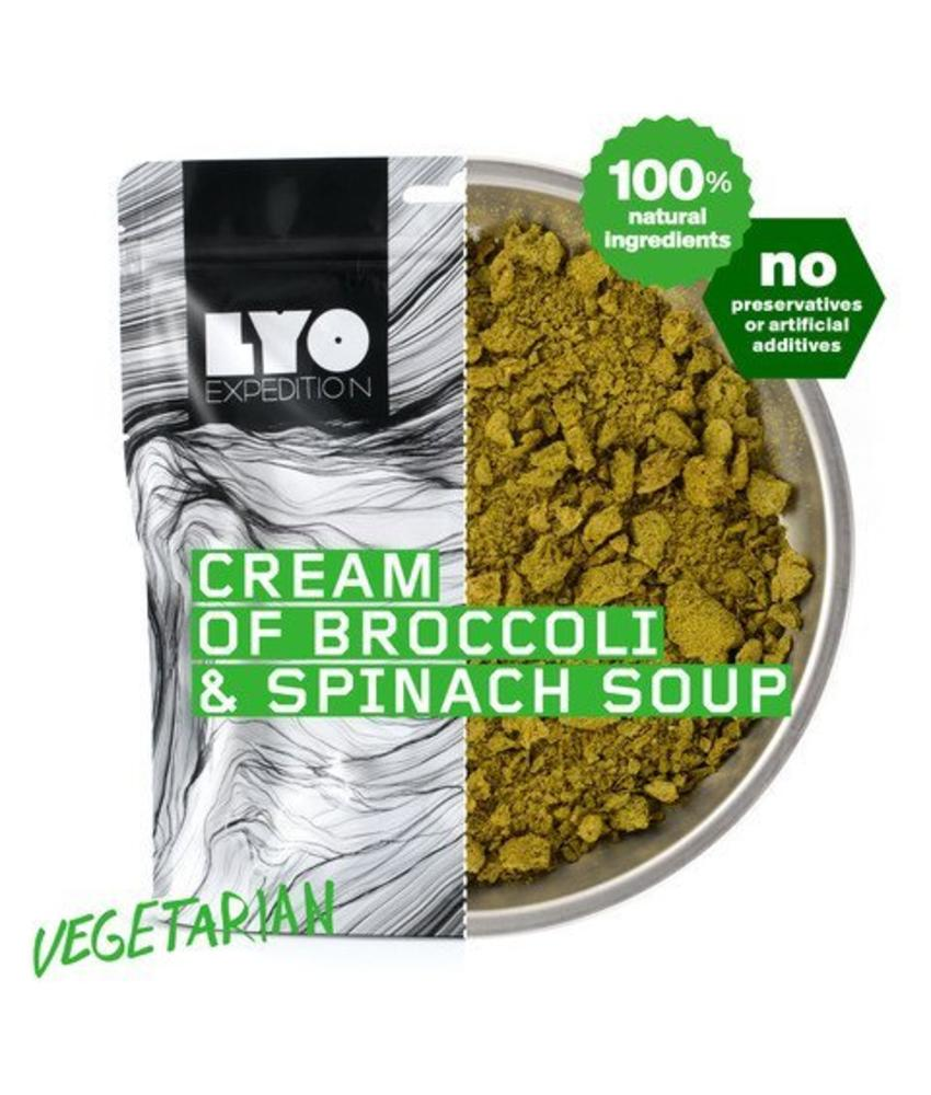 LYO FOOD Cream of Broccoli and Spinach Soup
