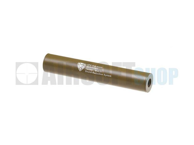 APS 190mm Silencer CCW (Dark Earth)
