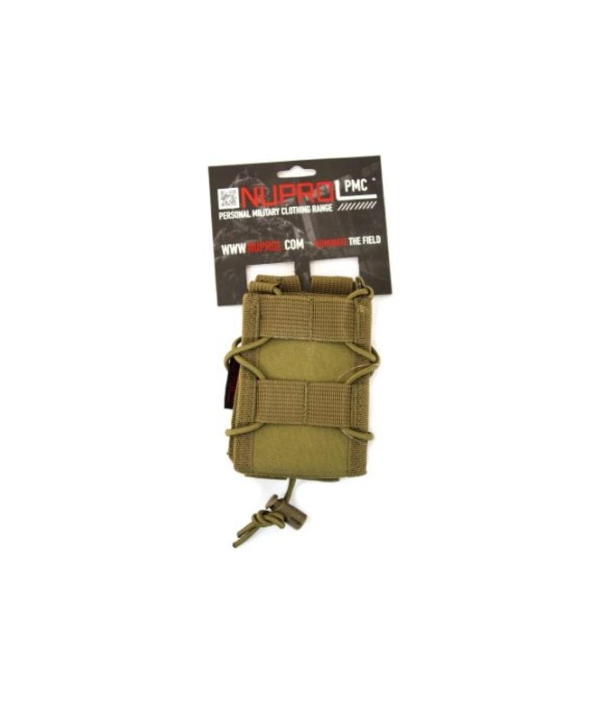 NUPROL PMC Rifle Open Top Pouch (Tan)