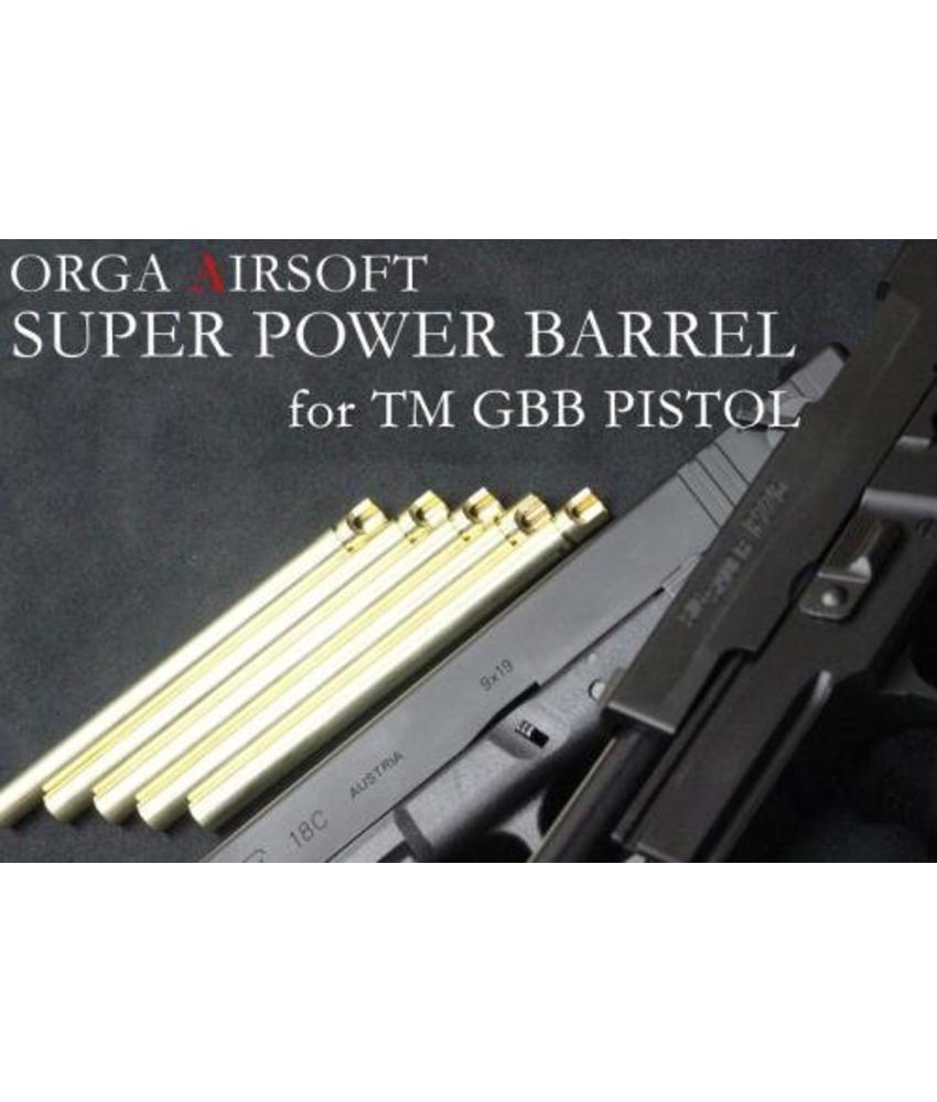 Orga Super Power 6.00mm Pistol Barrel (TM17/TM18)