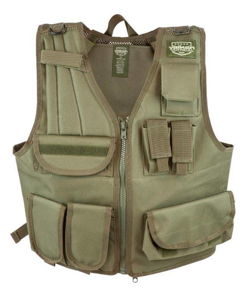Valken Adjustable Tactical Vest (Olive)