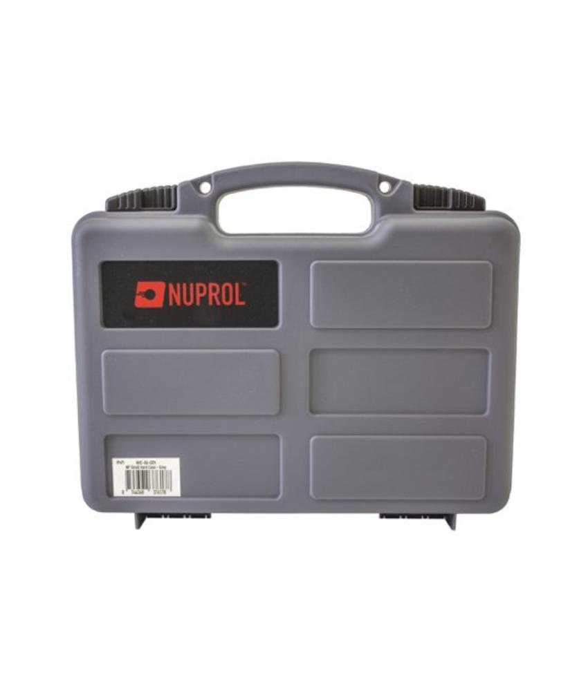 NUPROL Pistol Small Hard Case (Grey)
