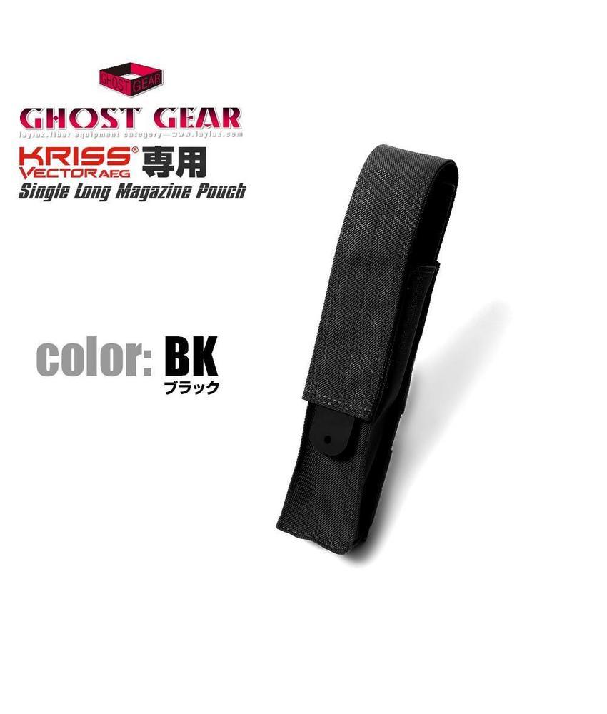 Ghost Gear Single Magazine Pouch Kriss Vector (Black)