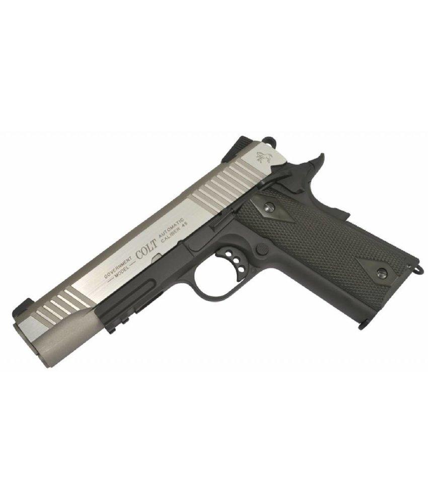 Cybergun Colt 1911 Rail Gun BiColor CO2