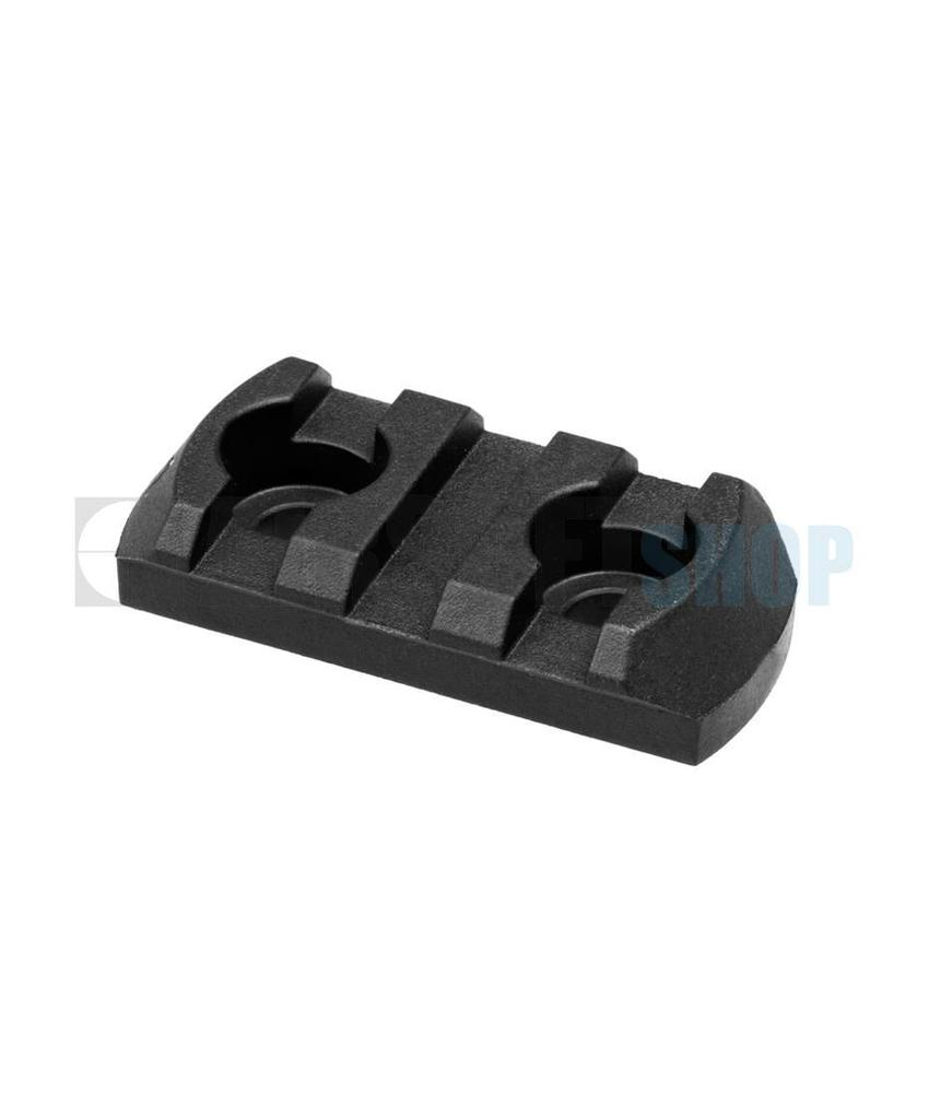 Magpul M-Lok Polymer Rail Section 3 Slots (Black)