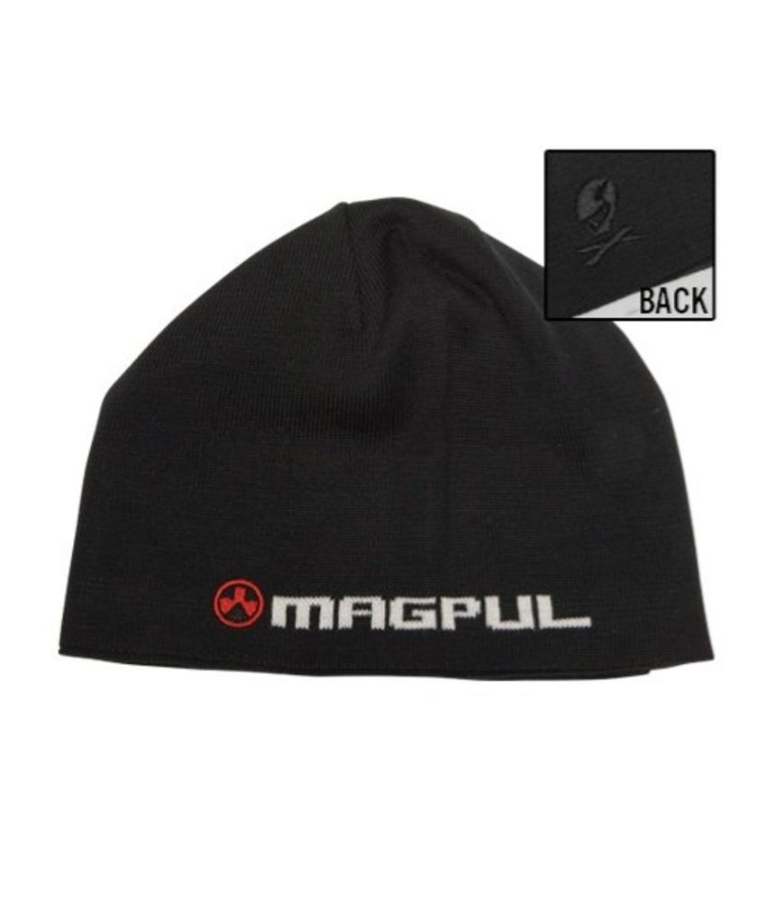 Magpul Logotext Skull Beanie (Black)
