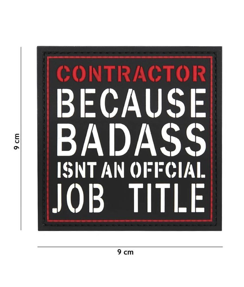 101 Inc Contractor Job Title PVC Patch