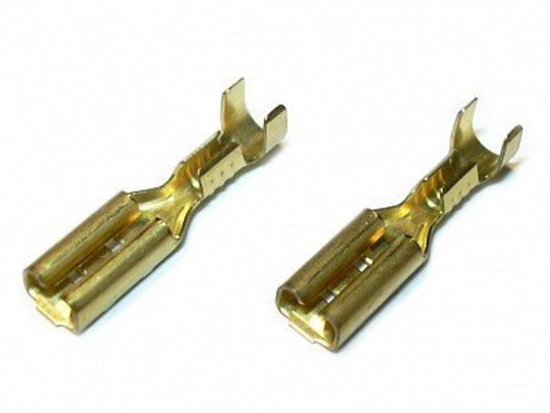 Airsoftshop Motor / Mini Fuse Connectors 2.8mm (Pair)