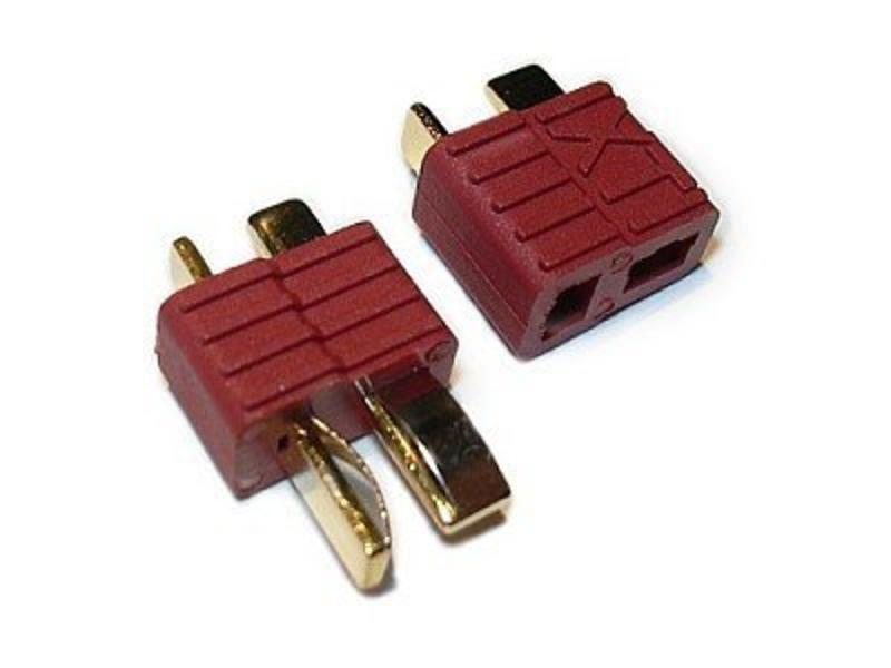 Airsoftshop Deans T-Plug Connectors (Pair)
