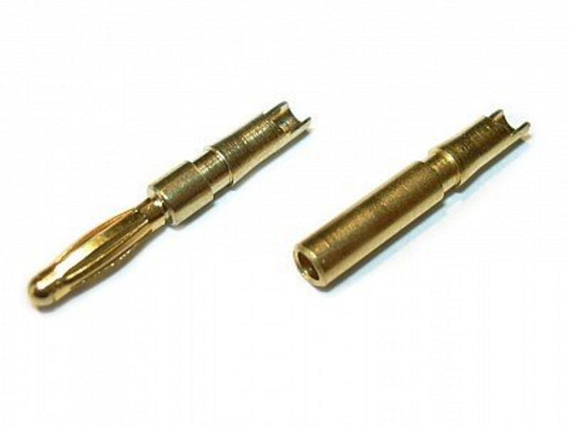Airsoftshop Bullet Connectors 2mm (Pair)