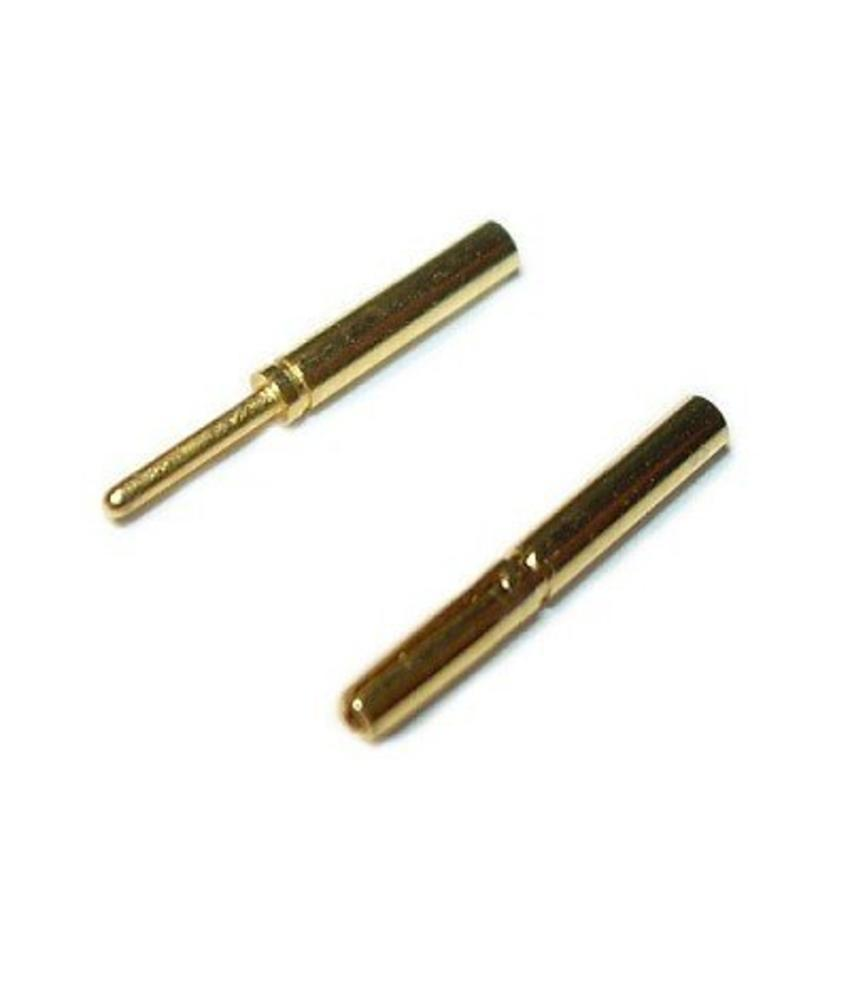 Airsoftshop Bullet Connectors 0,8mm (Pair)
